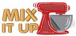 Mix it Up! embroidery design