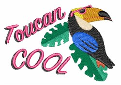 Toucan Cool! embroidery design
