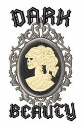 Dark Beauty embroidery design