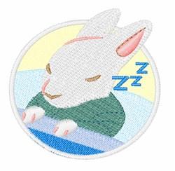 Snuggle Bunny embroidery design