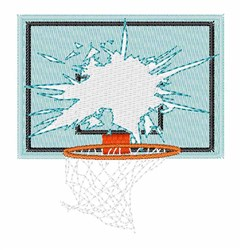 Shattered Backboard embroidery design