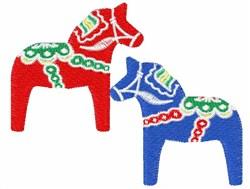 Dala Horse embroidery design