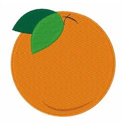 Round Orange embroidery design