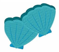 Blue Shellfish embroidery design
