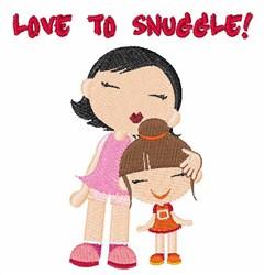 Love to Snuggle embroidery design