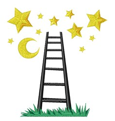 Ladder To The Stars embroidery design