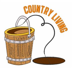 Country Living embroidery design