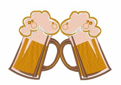 Toasting Brews embroidery design