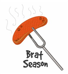 Brat Season embroidery design