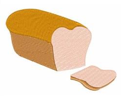 Sliced Bread embroidery design
