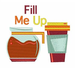 Fill Me Up embroidery design