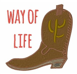 Way of Way embroidery design