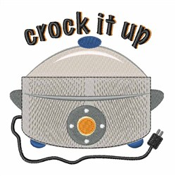 Crock it Up embroidery design