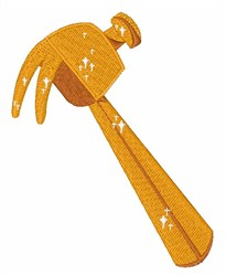 Golden Hammer embroidery design