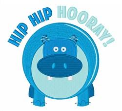 Hip Hip Hooray embroidery design