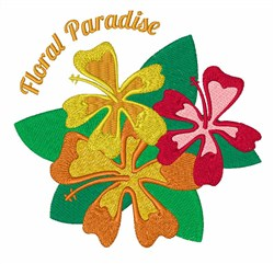 Floral Paradise embroidery design