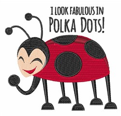 Fabulous in Dots embroidery design