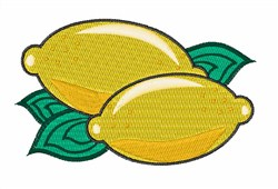 Shiny Lemons embroidery design