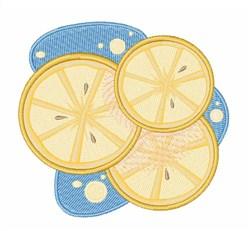 Lemon Slices embroidery design