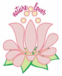 Nature Lover embroidery design