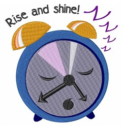 Rise And Shine! embroidery design