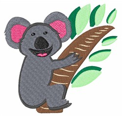 Koala Bear embroidery design