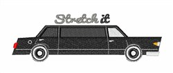 Stretch It embroidery design