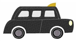 Black Taxi embroidery design