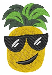 Funky Pineapple embroidery design