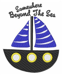 Beyond The Sea embroidery design
