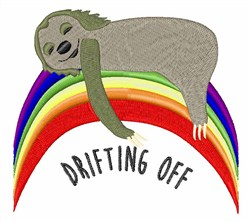 Drifting Off embroidery design