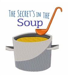 Secret Soup embroidery design