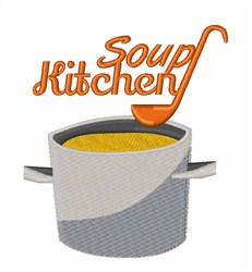 Soup Kitchen embroidery design