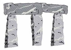 Stonehenge embroidery design