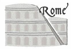 Rome embroidery design