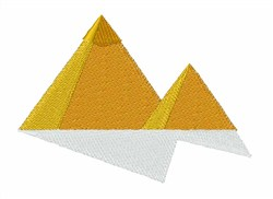 Great Pyramids embroidery design