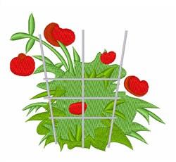 Tomato Plant embroidery design
