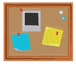 Bulletin Board embroidery design