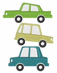 Cars embroidery design