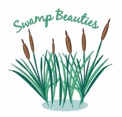 Swamp Beauties embroidery design