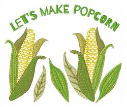 Make Popcorn embroidery design
