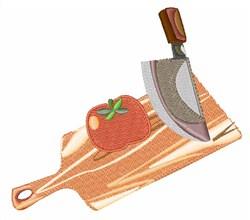 Cut A Tomato embroidery design