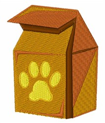 Dog Food embroidery design