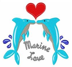 Marine Love embroidery design