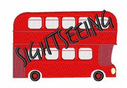 Sightseeing embroidery design