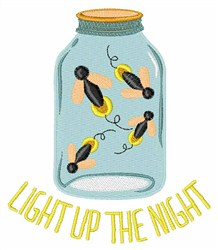 Light Up Night embroidery design