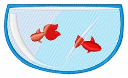 Goldfish Bowl embroidery design