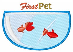 First Pet embroidery design