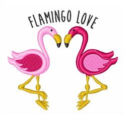 Flamingo Life embroidery design