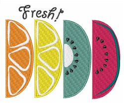 Fresh Fruit embroidery design